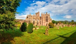 Majestic Melrose Abbey