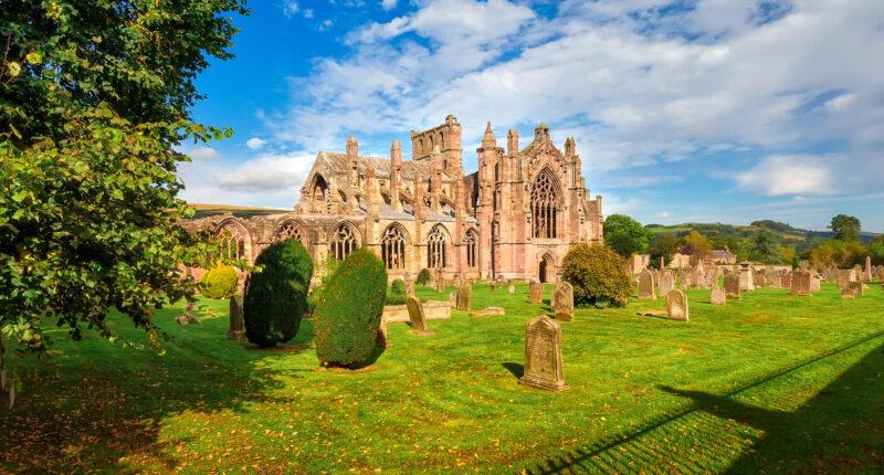 Majestic Melrose Abbey