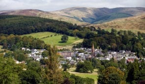 Moffat in Dumfries and Galloway