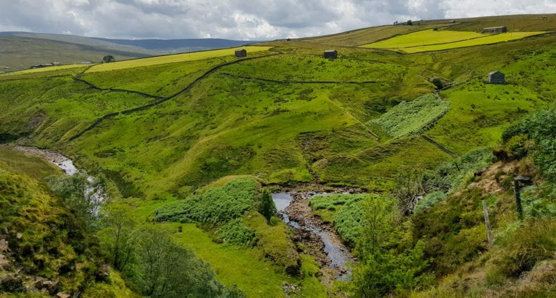 On the Coast to Coast in the Yorkshire Dales