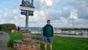 Scott from Absolute Escapes at Blakeney Harbour on the Norfolk Coast Path