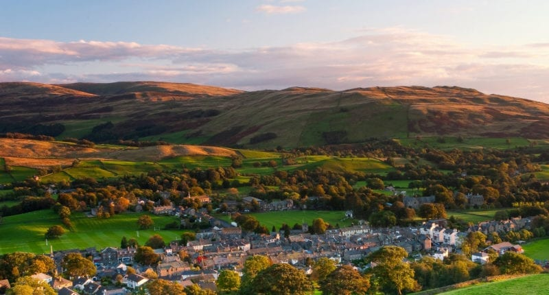 Sedbergh in Cumbria