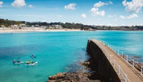 Coastal scenery on Jersey