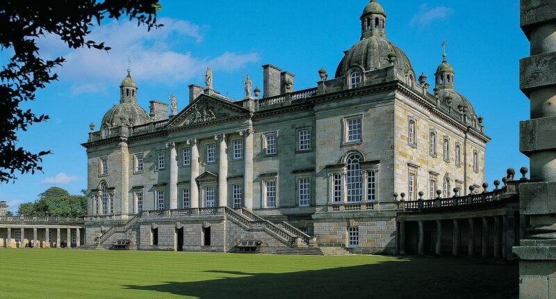 Houghton Hall (photo credit - Visit Norfolk)