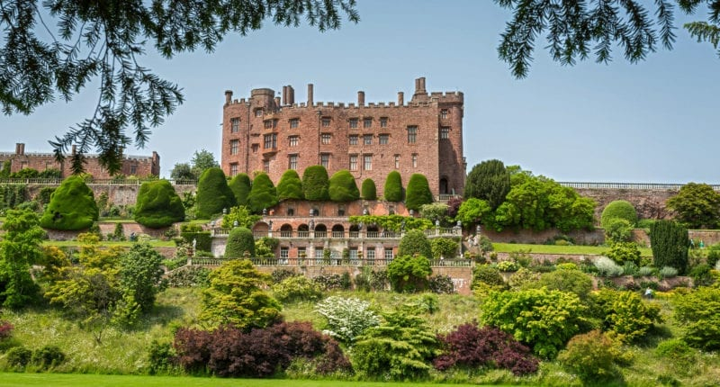 Powis Castle in Welshpool