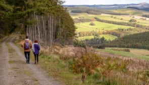 Walking through the Scottish Borders on the Southern Upland Way