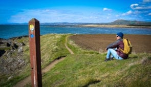 Approaching Elie on the Fife Coastal Path