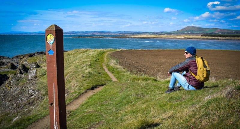 Approaching Elie on the Fife Coastal Path