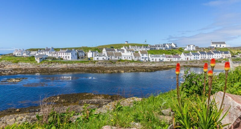 Portnahaven on the Isle of Islay