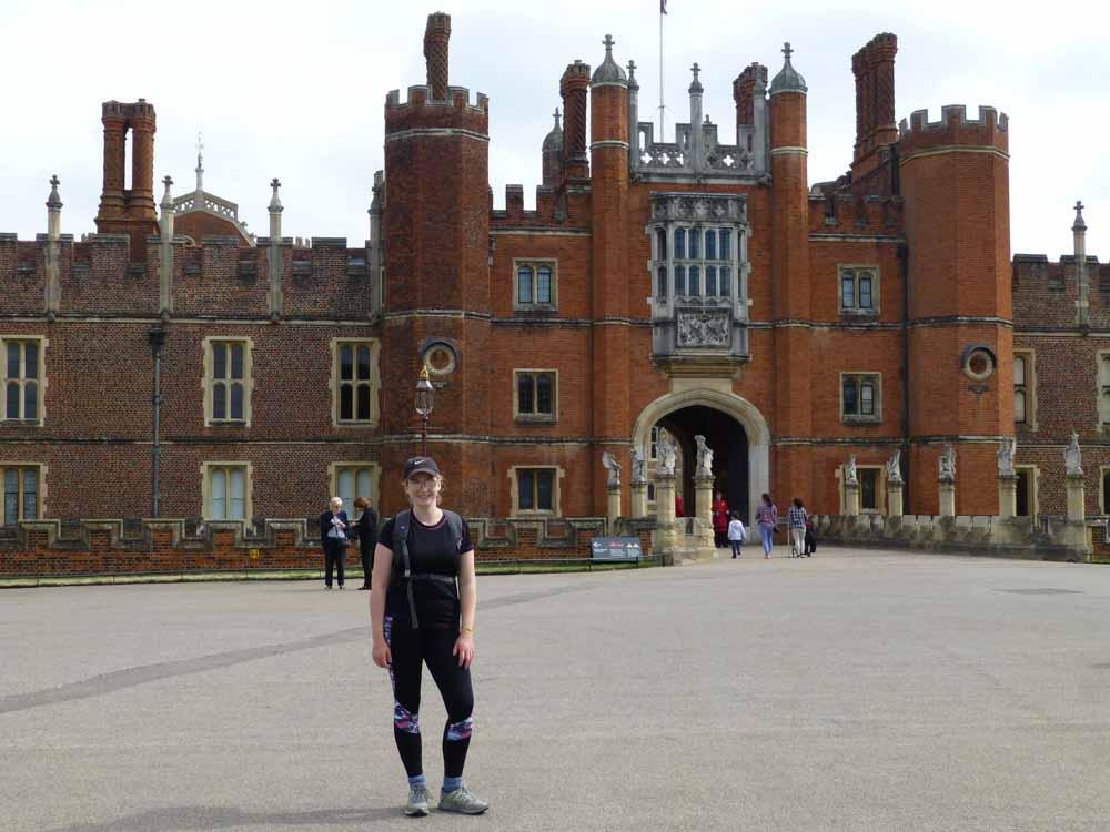 5 - Pippa at Hampton Court Palace