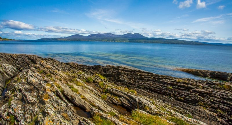 Fantastic views from the Kintyre Way