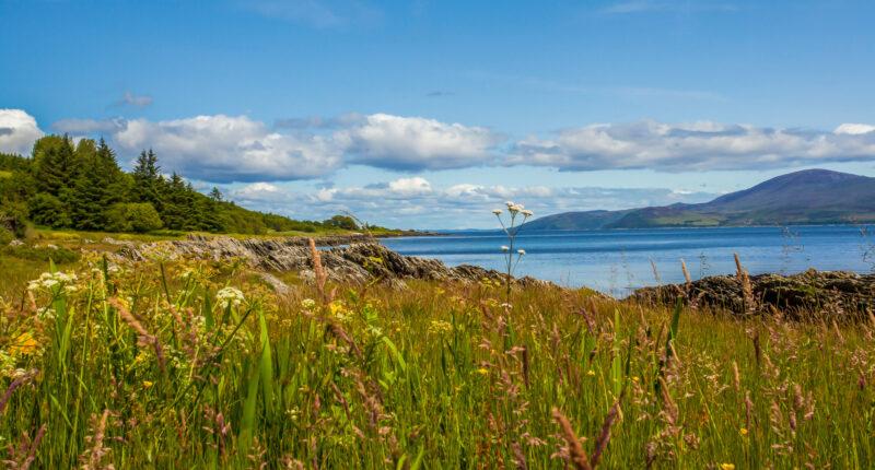 Scenery on the Kintyre Peninsula