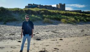 Bamburgh Castle on St Oswald's Way