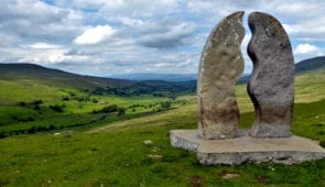 Sculpture on the Lady Anne's Way