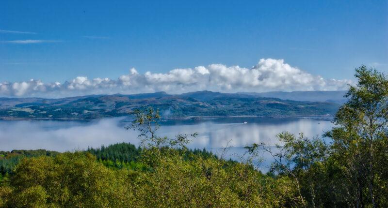 Views across the Kintyre Peninsula