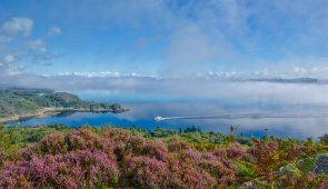 Gorgeous scenery on the Kintyre Way