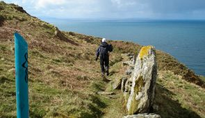 Sheila from Absolute Escapes on the Kintyre Way