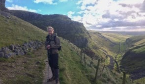 Ing Scar on the Pennine Way