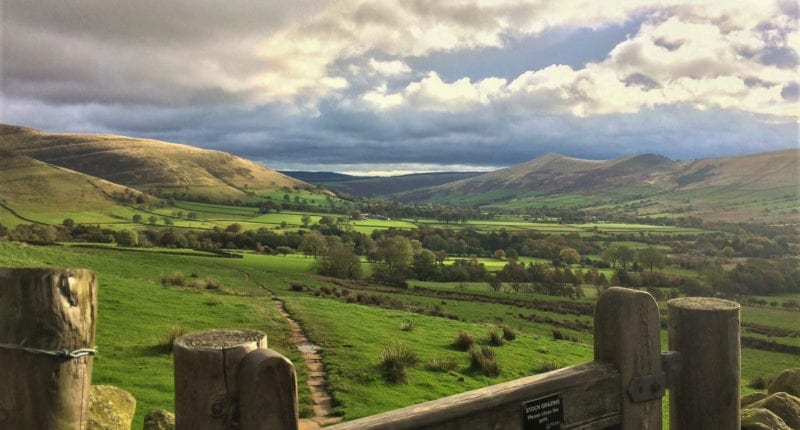 The Vale of Edale in the Peak District