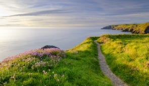 Pembrokeshire Coast Path and Ceibwr Bay