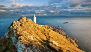 Start Point Lighthouse in south Devon