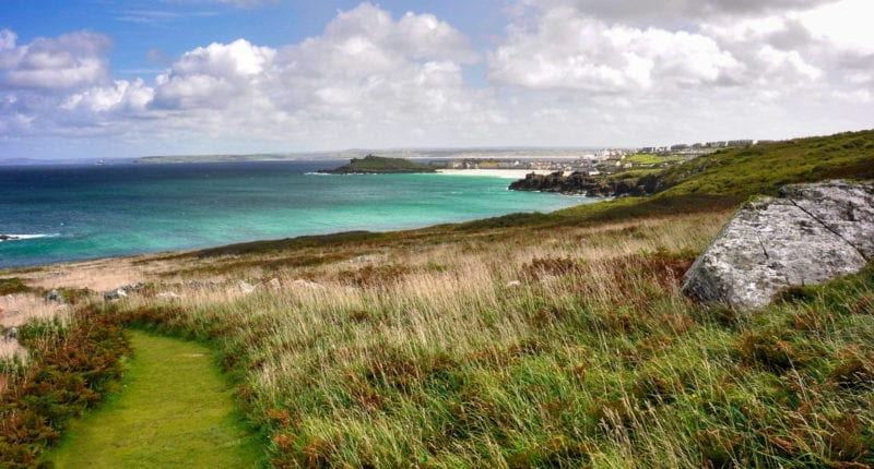 Stunning scenery on the St Ives Circuit