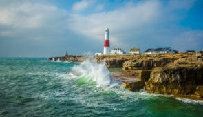 Portland Lighthouse in Dorset