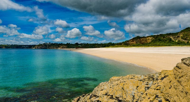 Stunning beach scenery on the South West Coast Path