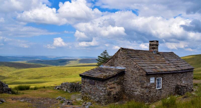 Greg's Hut, England's highest bothy