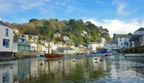Polperro in south Cornwall