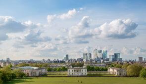 Greenwich Park near the Thames Path