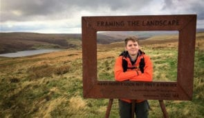 Jason from the Absolute Escapes team on the Pennine Way