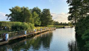 The River Thames near Abingdon-on-Thames