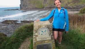 Caitlin from Absolute Escapes in Crackington Haven