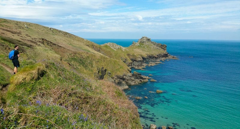 On the trail from St Ives to Pendeen