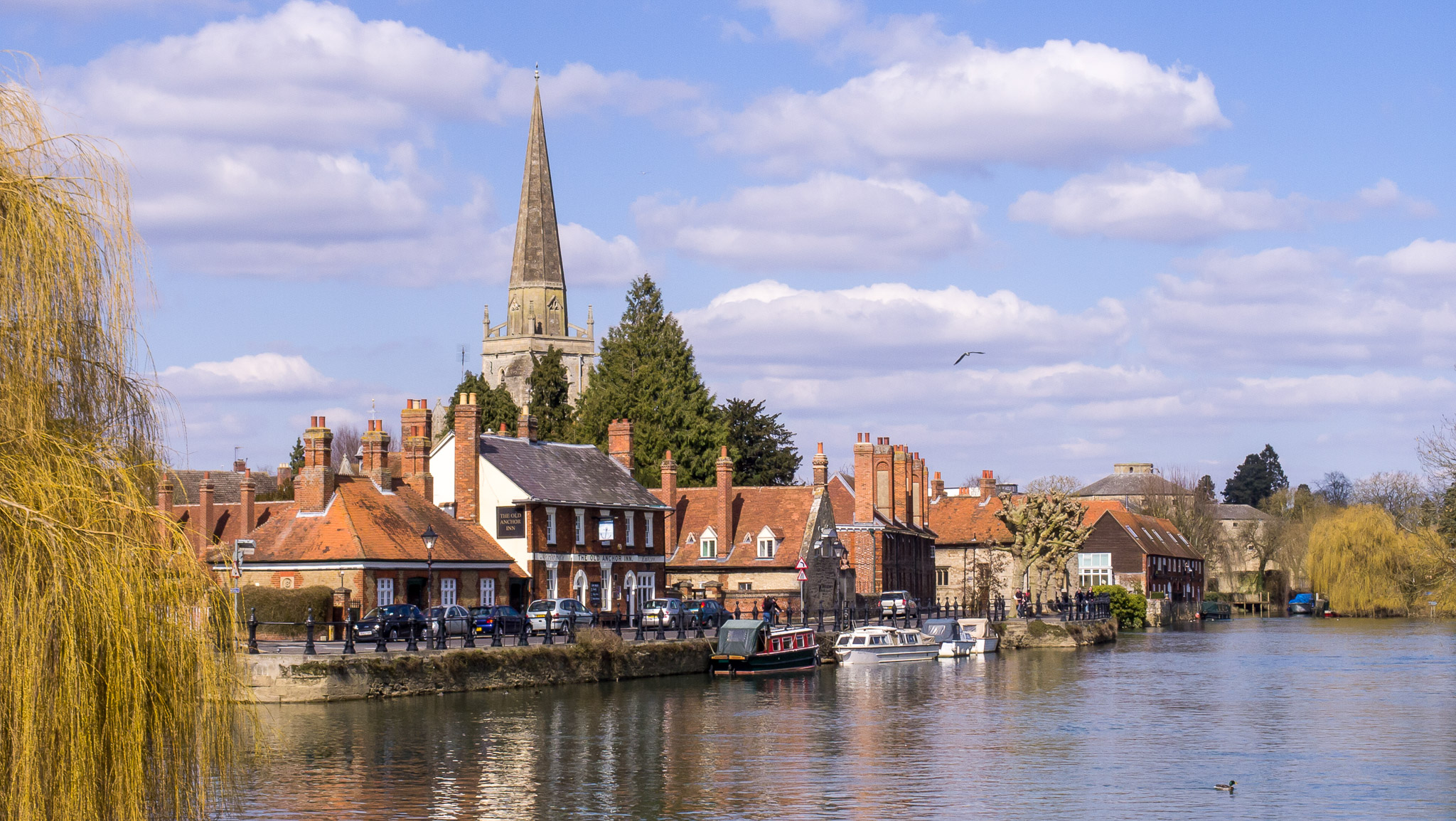 The town of Abingdon-on-Thames