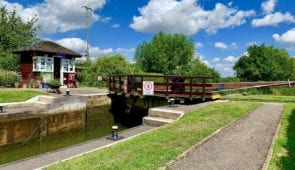 River Thames Lock