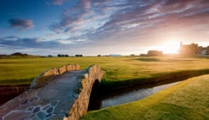 18th Fairway of the Old Course at St Andrews