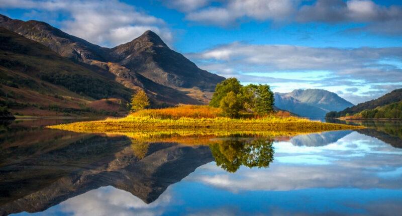 Reflection on Loch Lomond