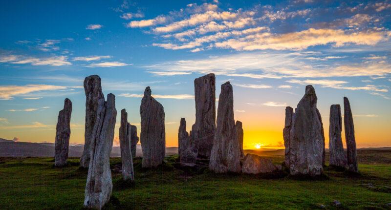 The Callanish Standing Stones, Isle of Lewis