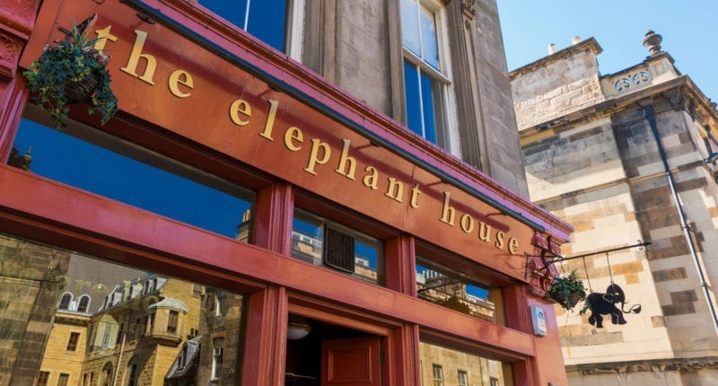 The Elephant House, Birthplace of the Harry Potter books