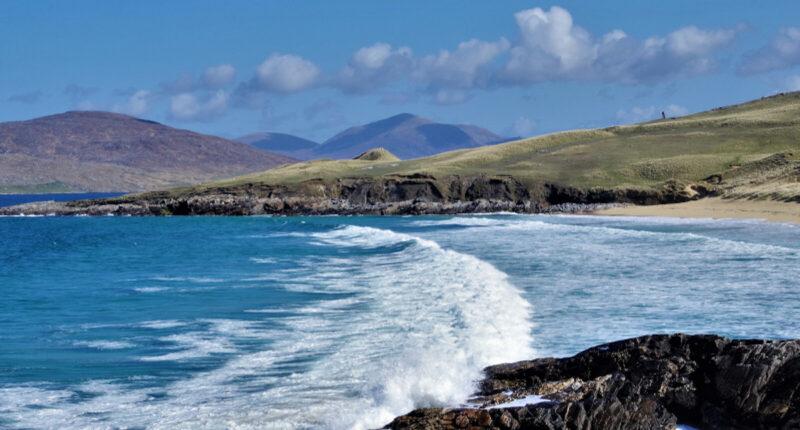 Traigh Iar on the Isle of Harris