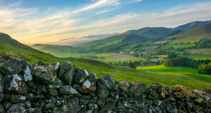 Scottish Borders Countryside