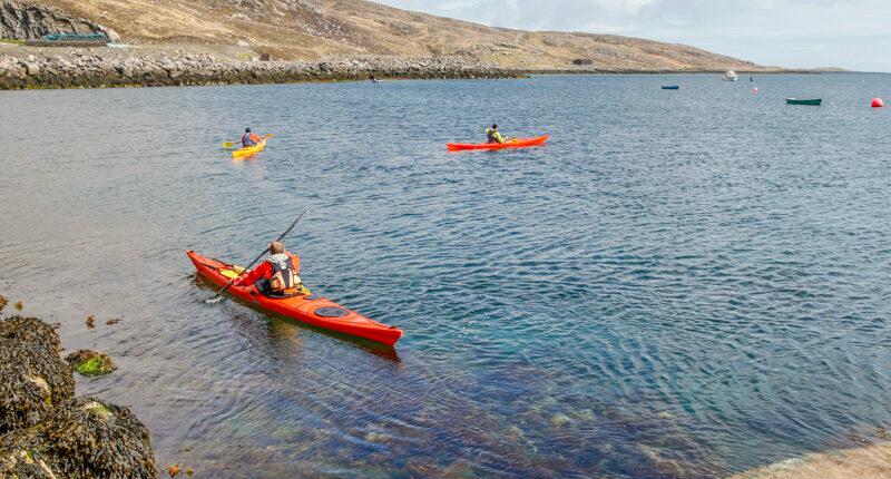 Sea Kayaking on the Isle of Barra