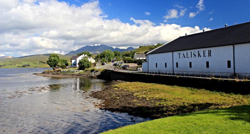 Talisker Whisky Distillery, Skye