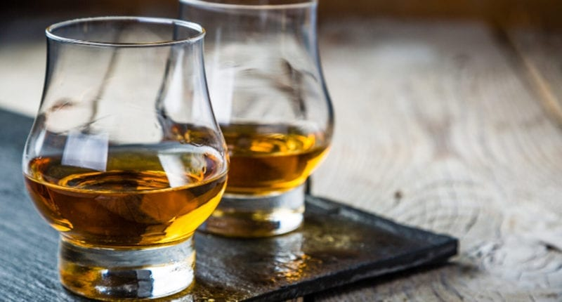 A wee dram of Scotch whisky