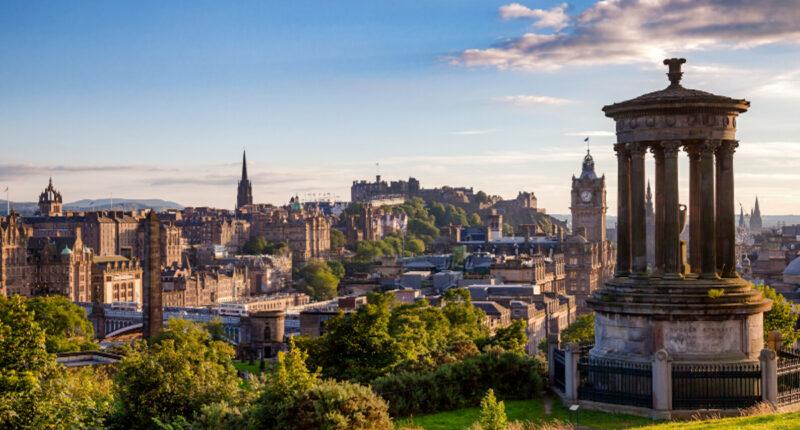 Edinburgh viewed from Calton Hill