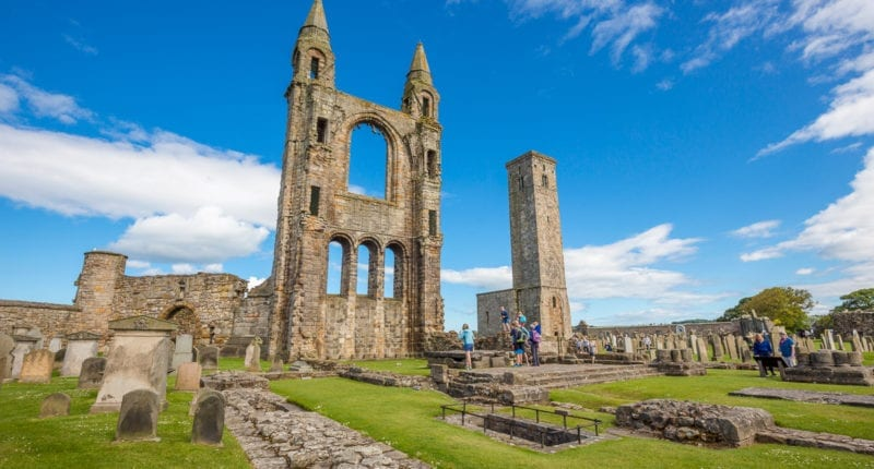 St Andrews Cathedral in Fife