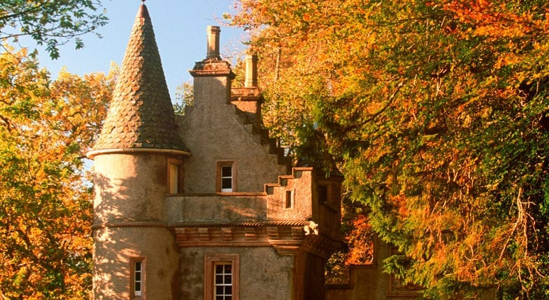 The Gatehouse to Ballindalloch Castle