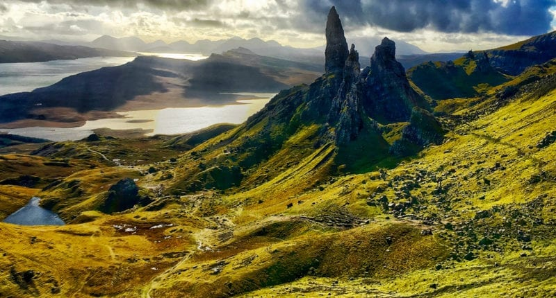 The Storr on the Isle of Skye